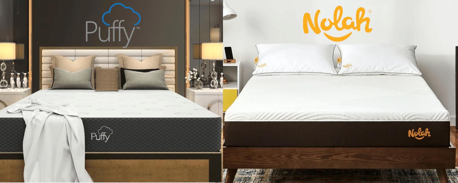 puffy vs nolah mattress comparison review