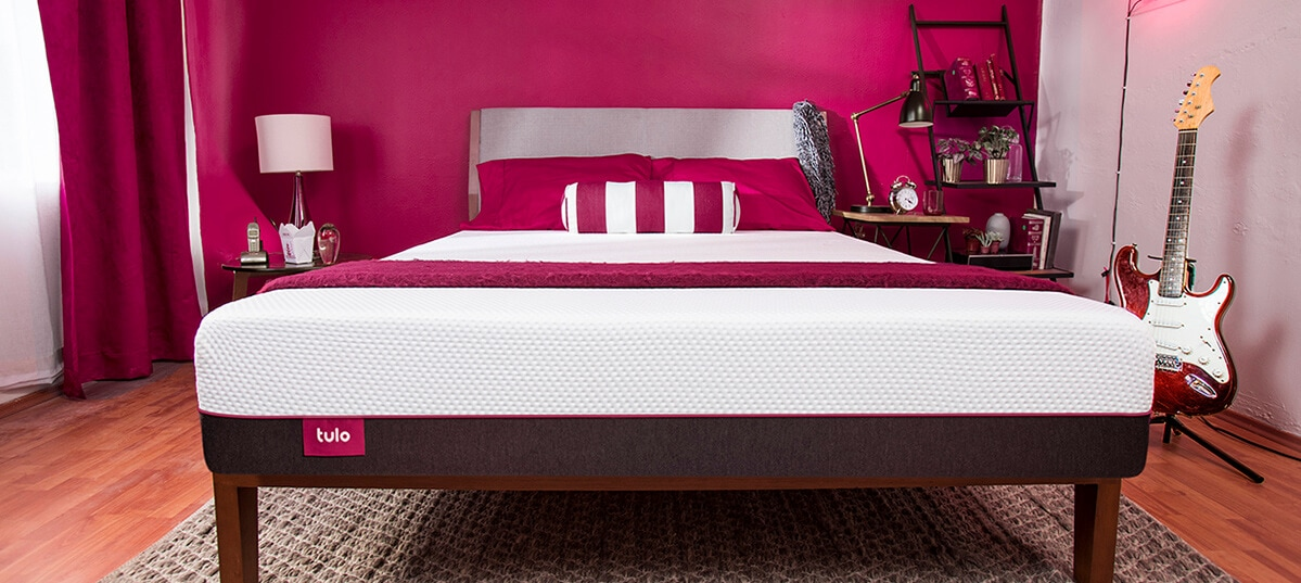 tulo mattress firm bedroom