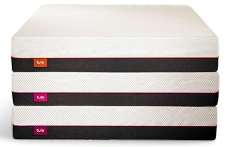3 tulo mattress stack