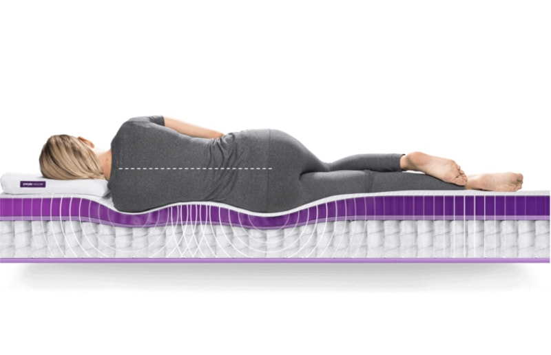 new purple hybrid mattress