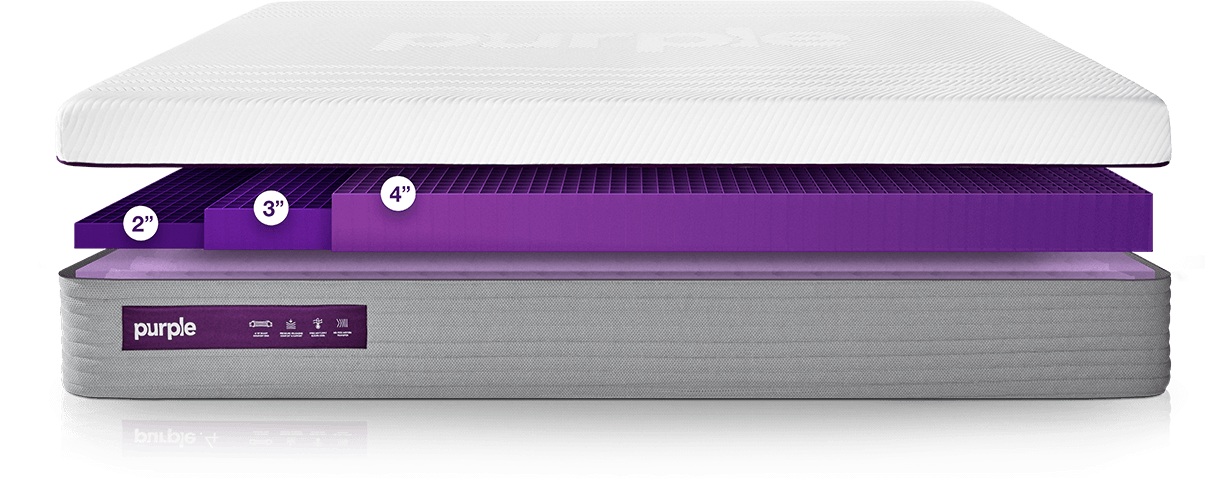 purple hybrid mattress review