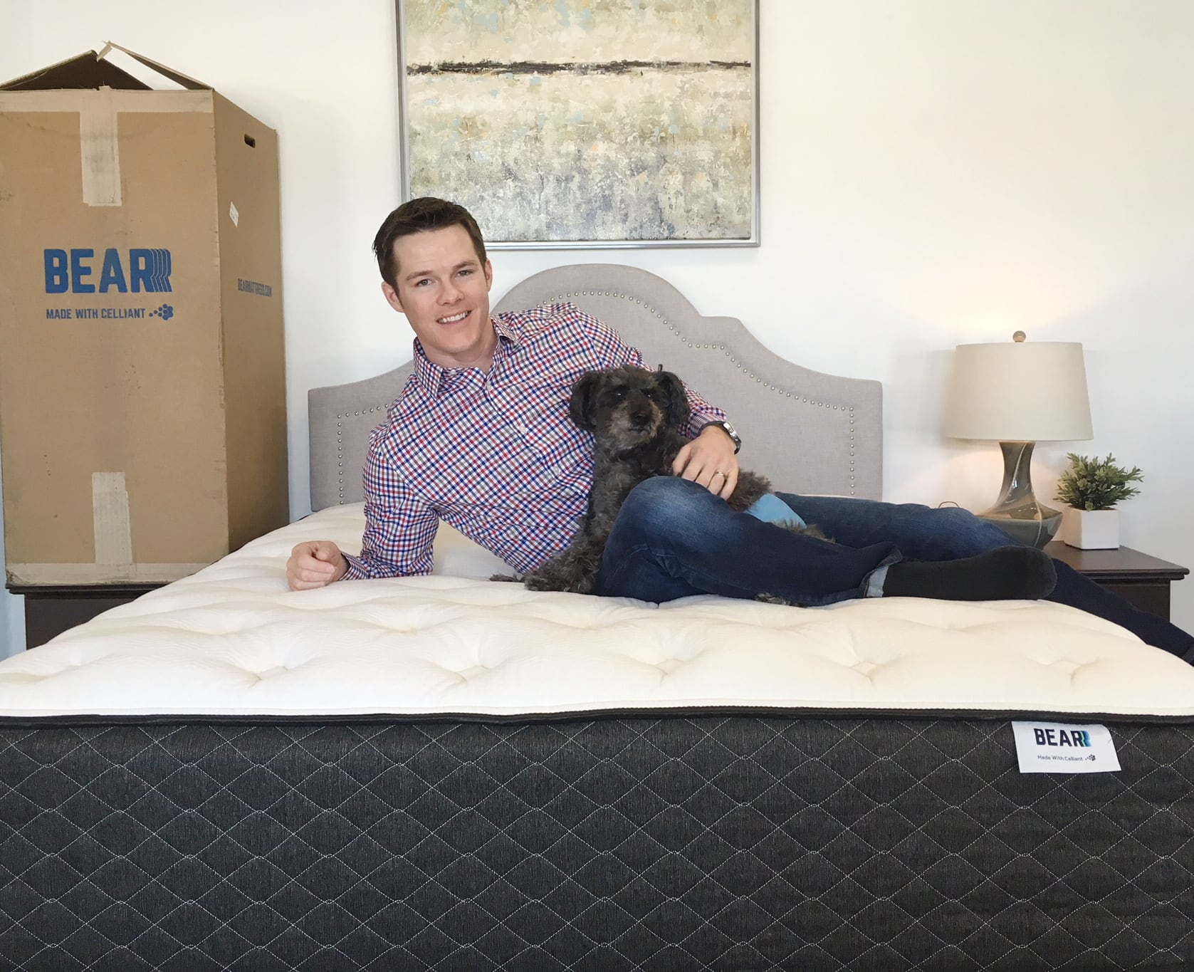 The Bear Hybrid Mattress Is A Super Thick 14 5 That Combines Several Performance Foams With Micro Coil System This Creates Very Balanced And