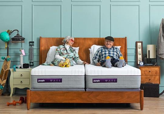 new purple mattress