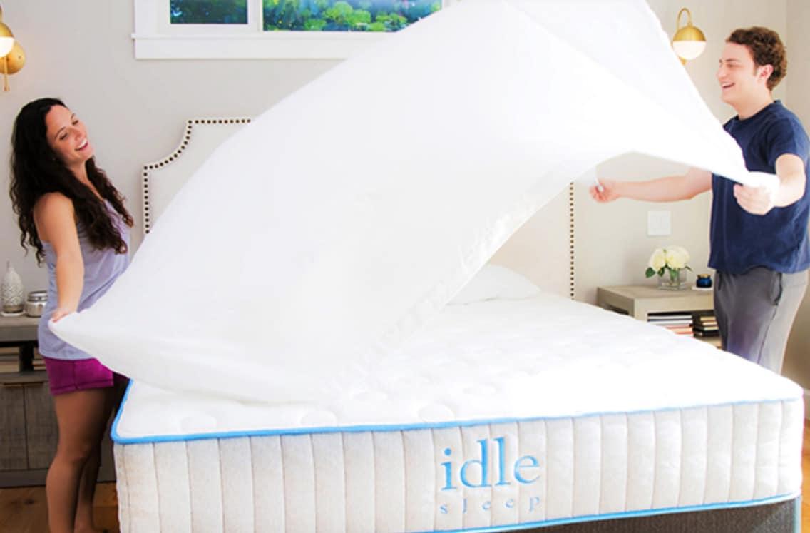 idle hybrid mattress review