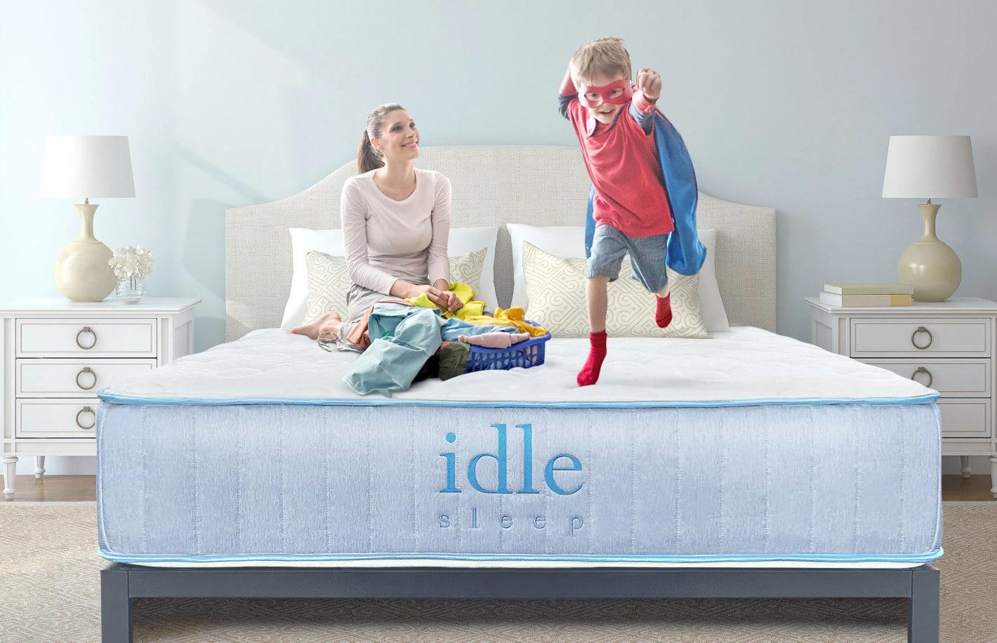 idle sleep hybrid mattress review