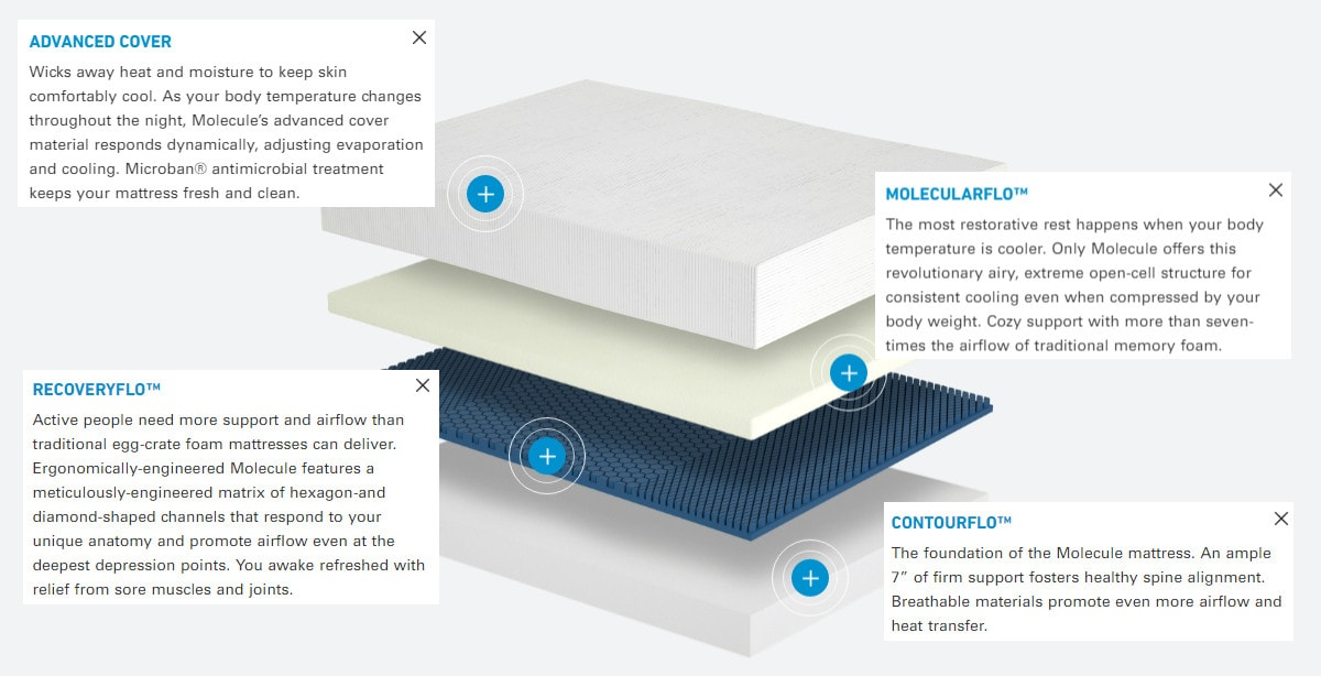 molecule mattress review