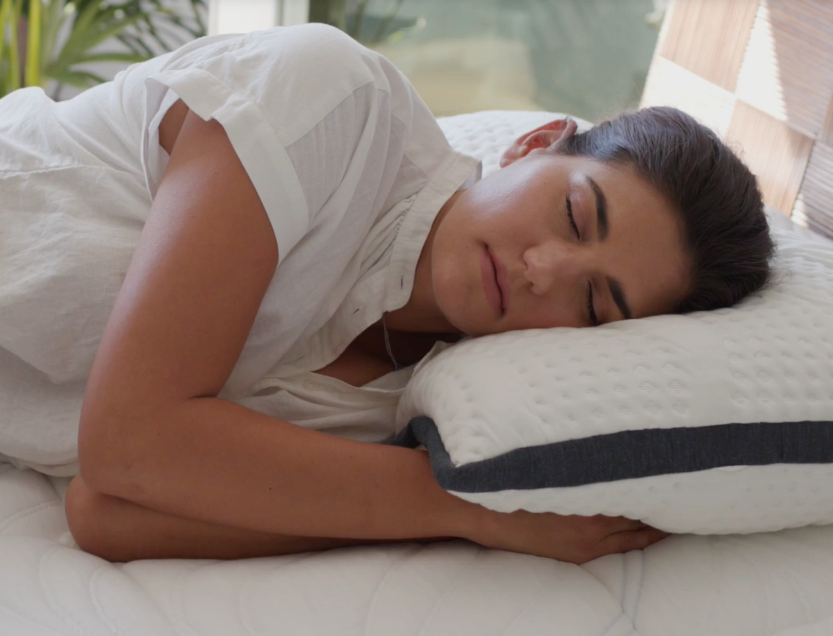 side sleeping oceano pillow