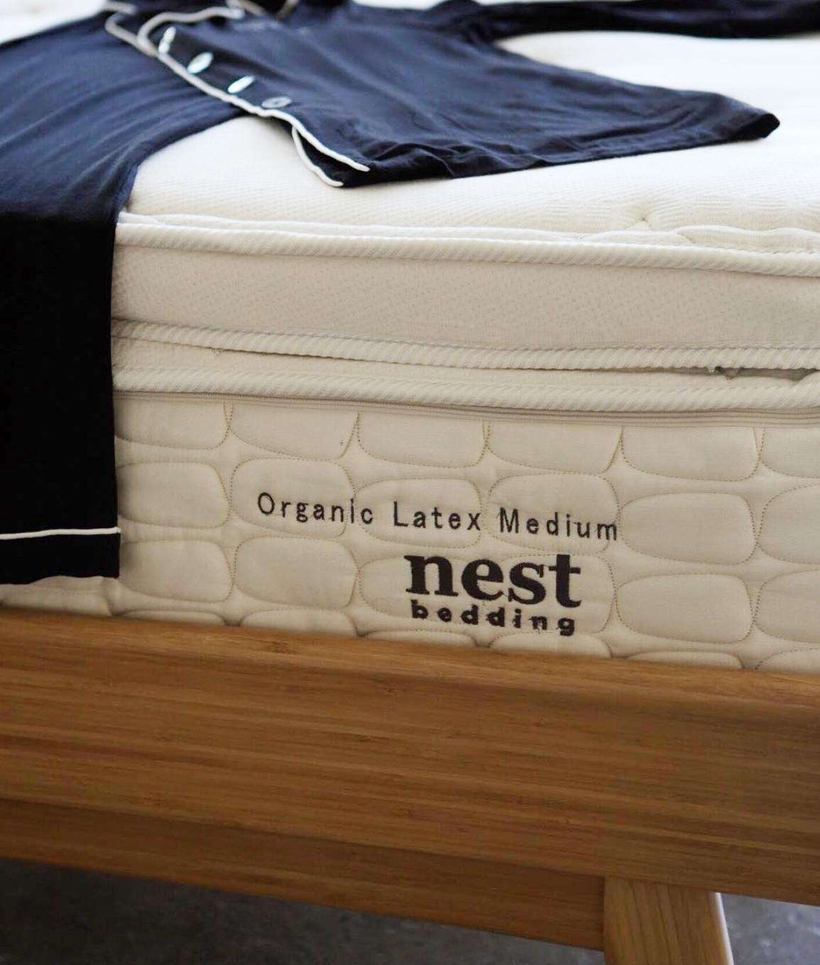 nest bedding organic latex