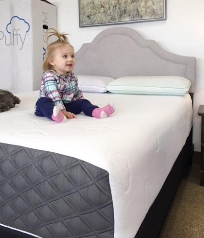 puffy lux mattress review