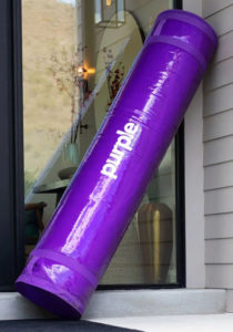new purple mattress bag