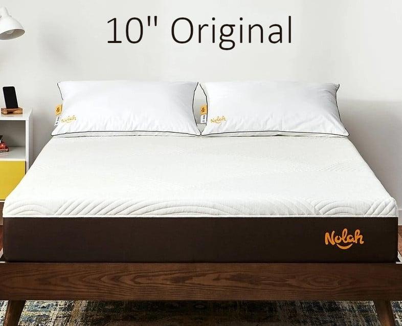 """nolah 10"""" original mattress comparison review"""