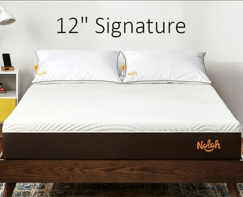 nolah 12 inch signature mattress comparison review