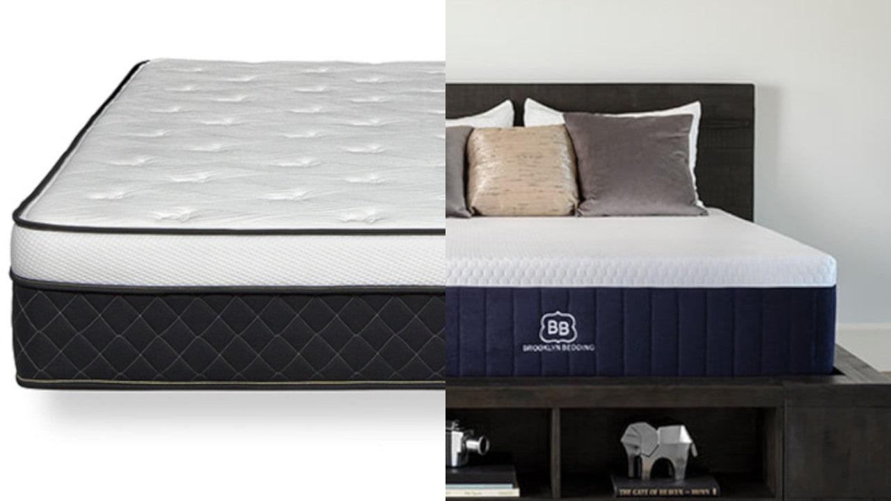 brooklyn aurora vs alexander hybrid bed
