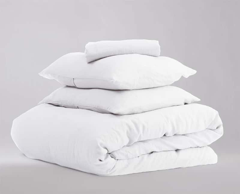 full set of organic linen sheets from SOL