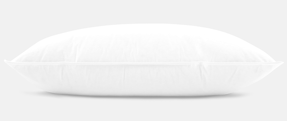 helix down pillow side