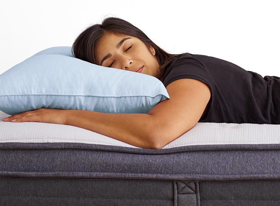 fluffy helix pillow