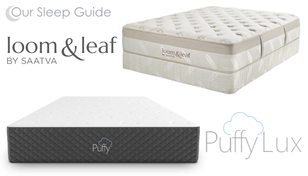loom and leaf vs puffy lux mattress comparison review