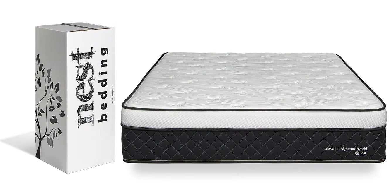 nest bedding signature hybrid mattress