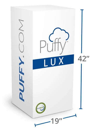 puffy lux delivers to your door