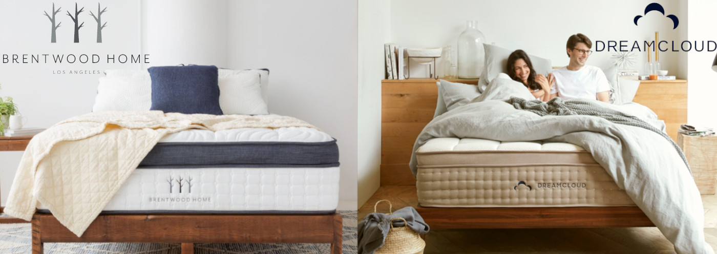 brentwood home bed or the dream cloud mattress