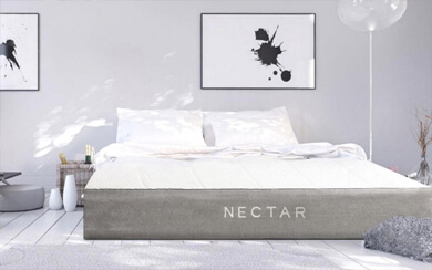 nectar in a staged room