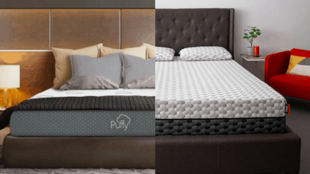puffy layla mattress comparison