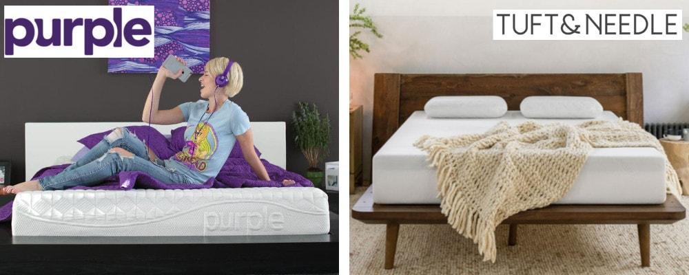 purple vs tuft and needle