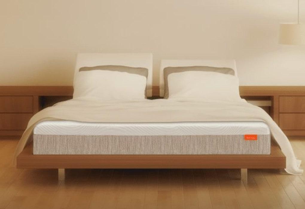 bed designed for lower back support