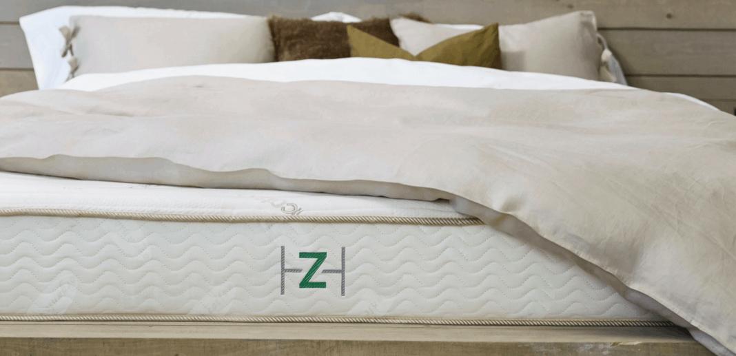 close up of zenhaven mattress
