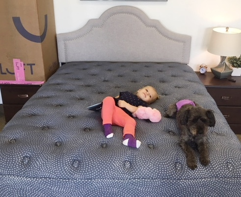 luft hybrid mattress review