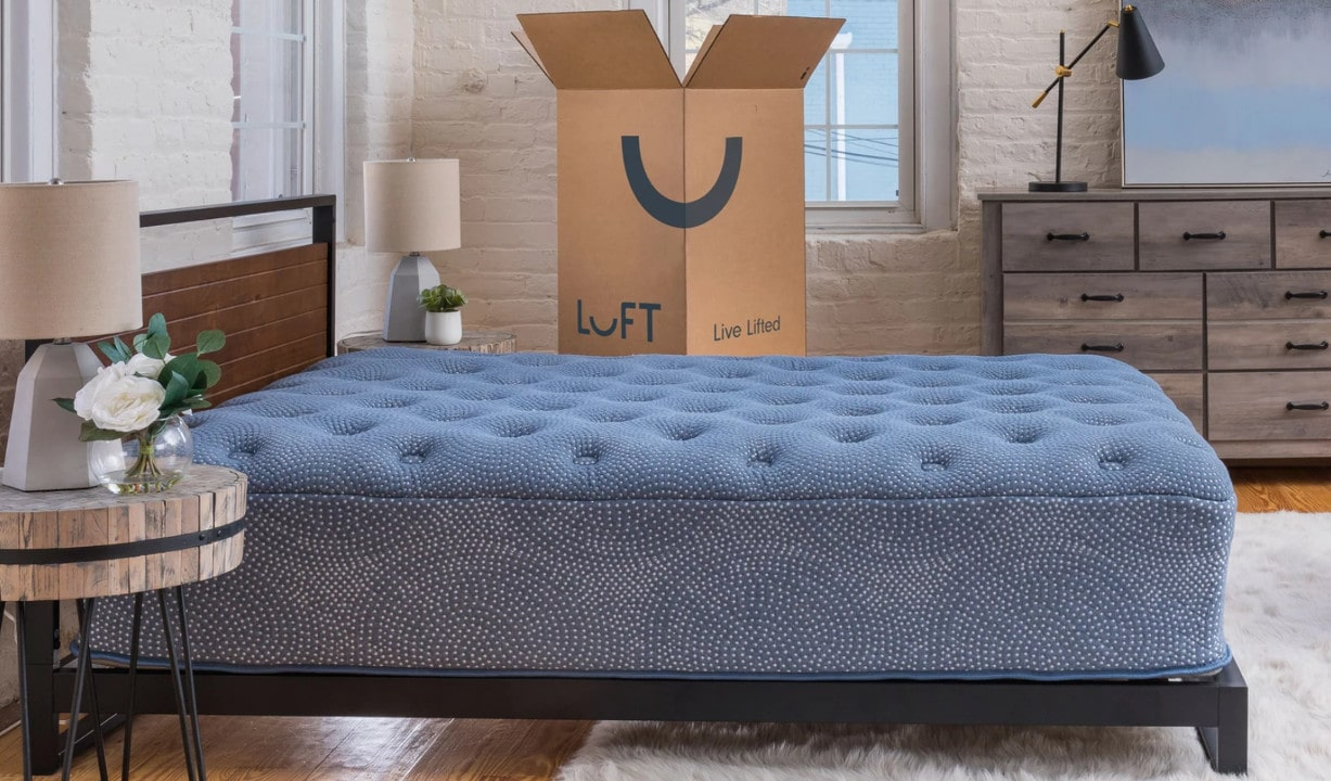 luft mattress and box