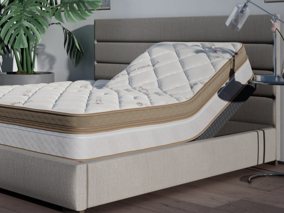 solaire adjustable airbed by saatva