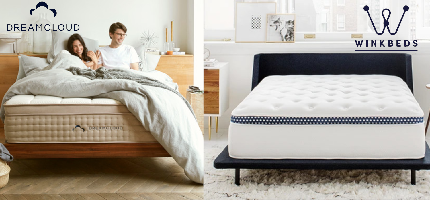 dreamcloud vs winkbeds mattress comparison review