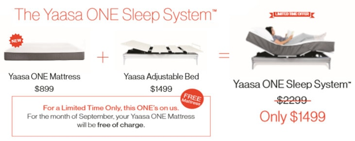 yaasa one sleep system