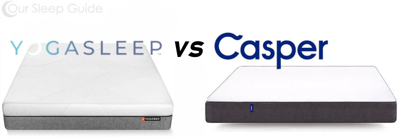 yogabed vs casper mattress