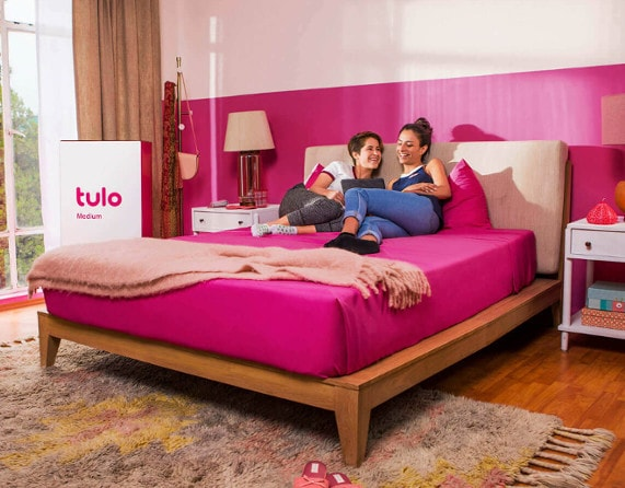 tulo mattress display