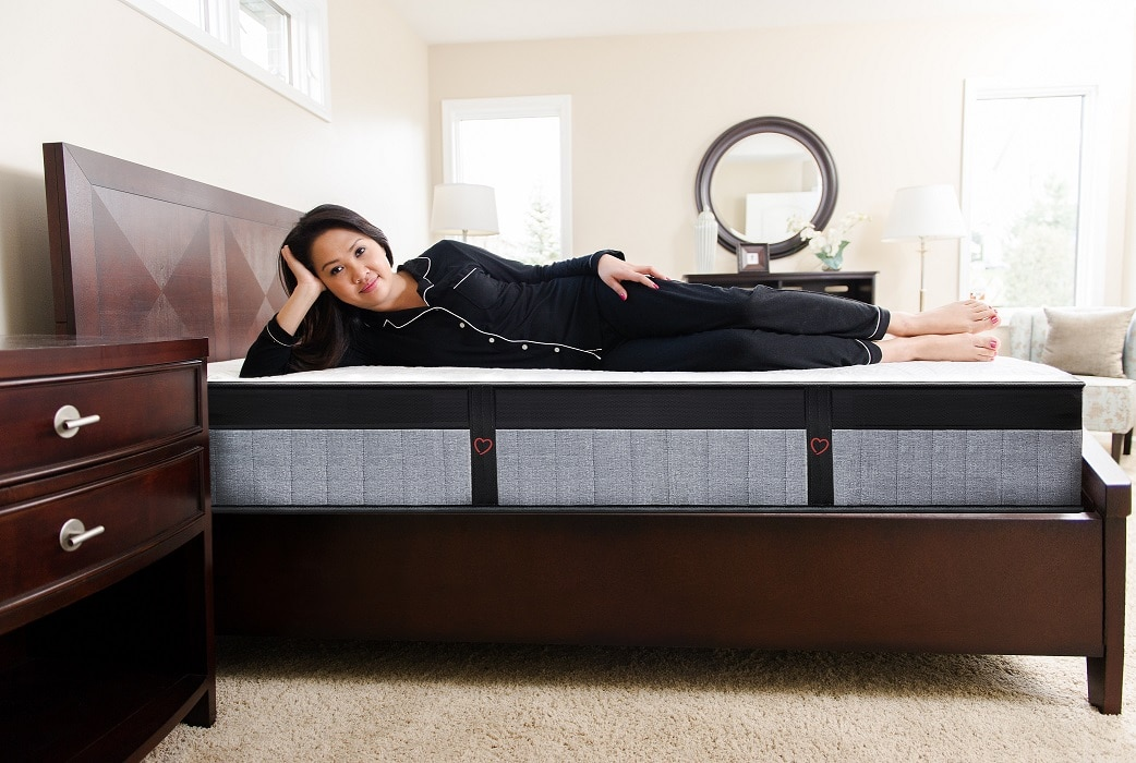 amore beds luxury hybrid