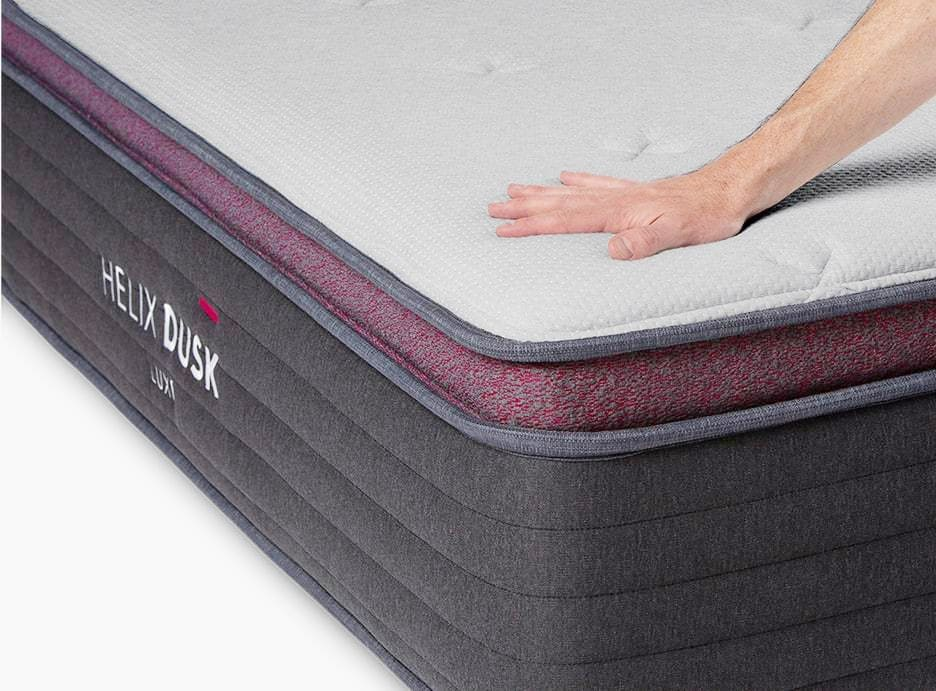 helix luxe mattress cover