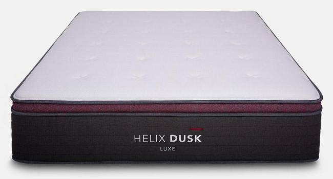helix dusk luxe mattress red