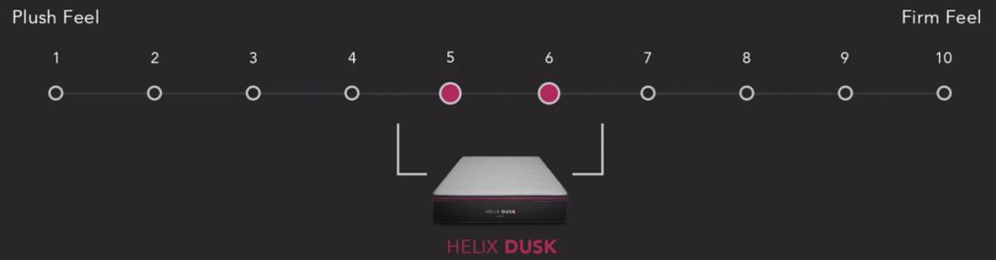 helix luxe dusk comfort