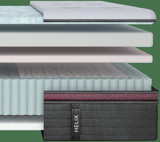 helix luxe dusk materials