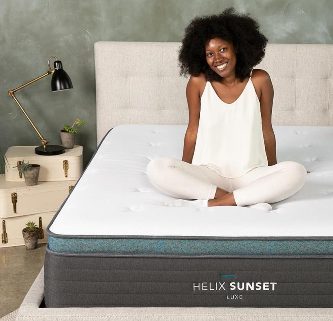 helix luxe mattress at a glance