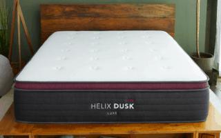 helix luxe mattress review