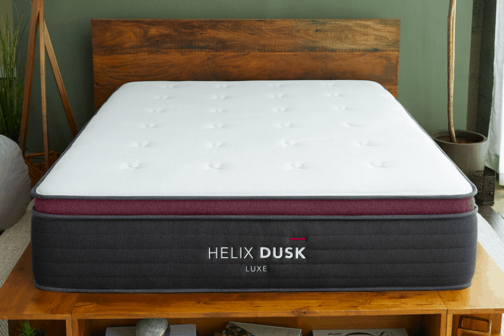 helix luxe mattress review red