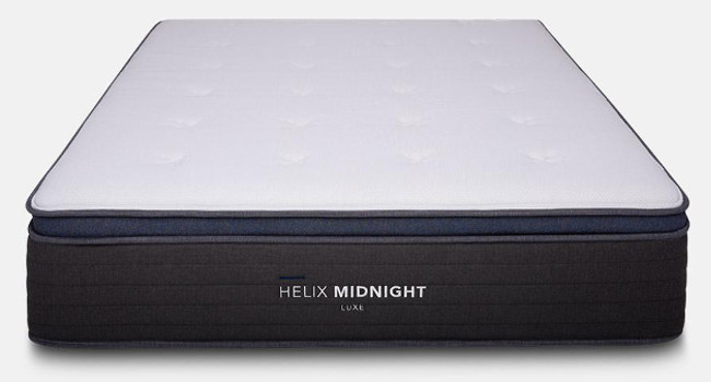 helix luxe mattress review midnight
