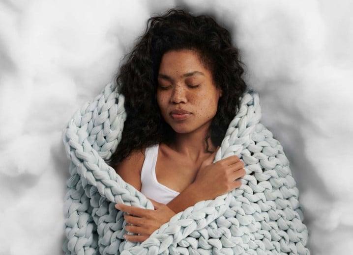 weighted blankets help you sleep