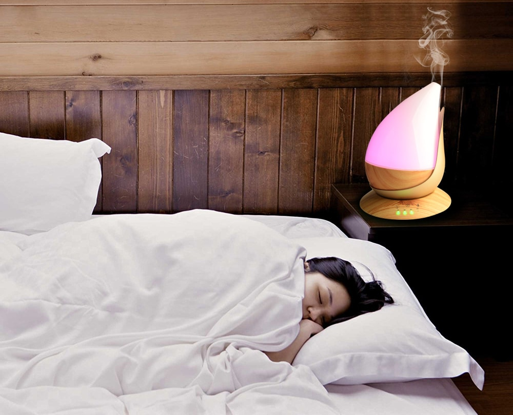 get rid of insomnia with essential oils