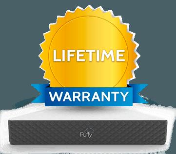 puffy warranty