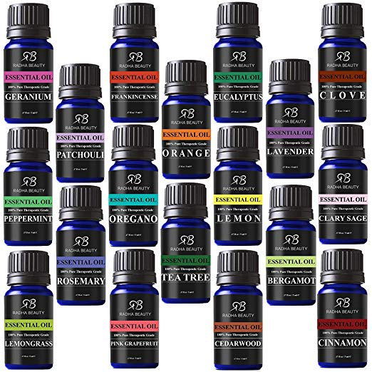 our favorite types of essential oils