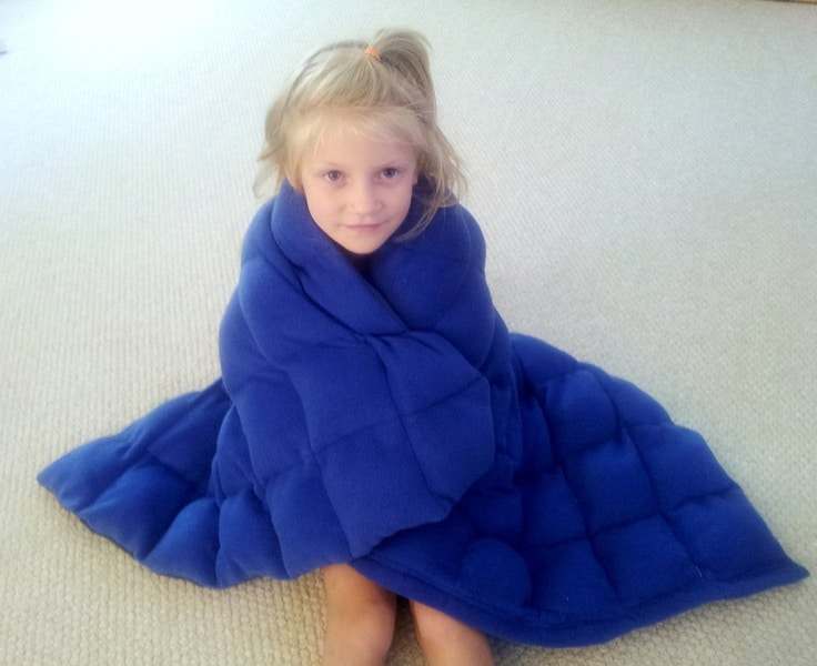 weighted blankets help with night terrors